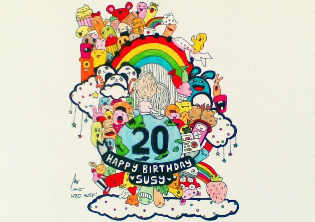Happy Birthday Susy Doodle By Rovykadabra