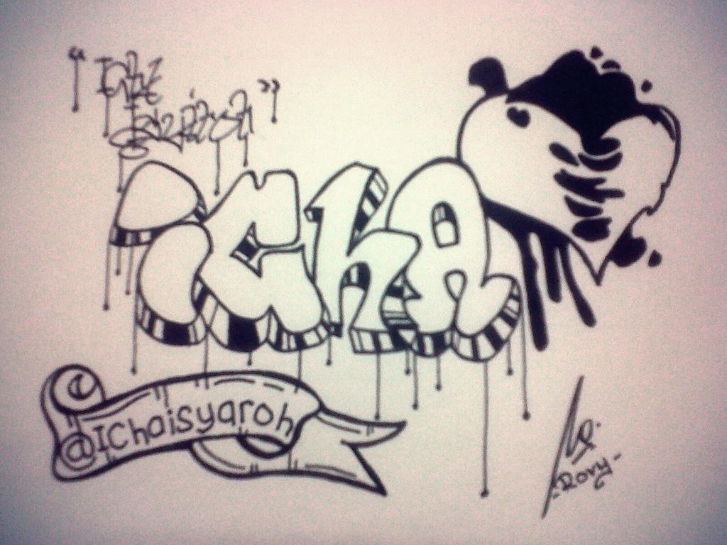Simple Graffiti Icha By Rovykadabra On Deviantart