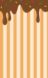 Dripping Chocolate Custom Box Background by renekotte