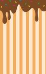 Dripping Chocolate Custom Box Background