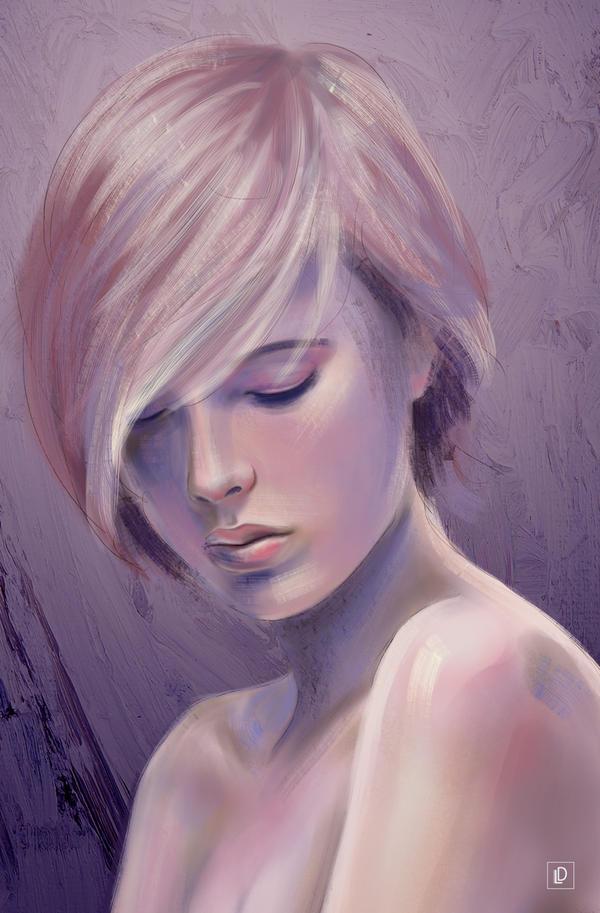 Purple Mind by LiliteD