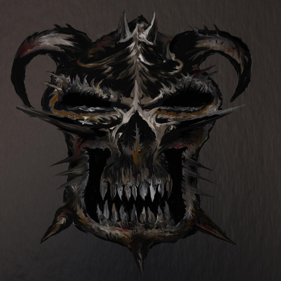 Kreaton Skull by Pagunus