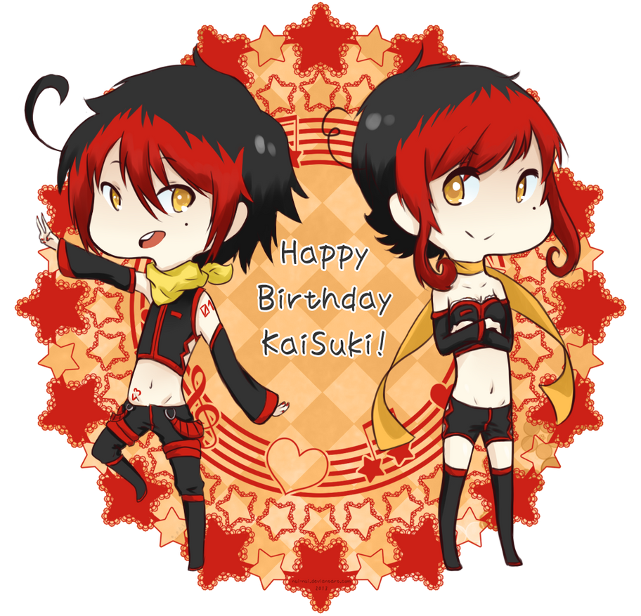 Happy Birthday to KaiSuki! by Nui-Nui