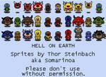 Hell On Earth Sheet 1