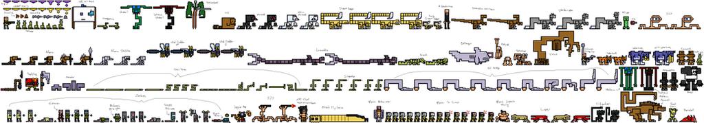 Monster Sprite Sheet 04 by gokou-sama