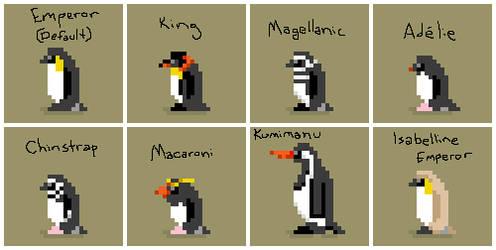 Synthwave Sanctuary -- Penguins by gokou-sama
