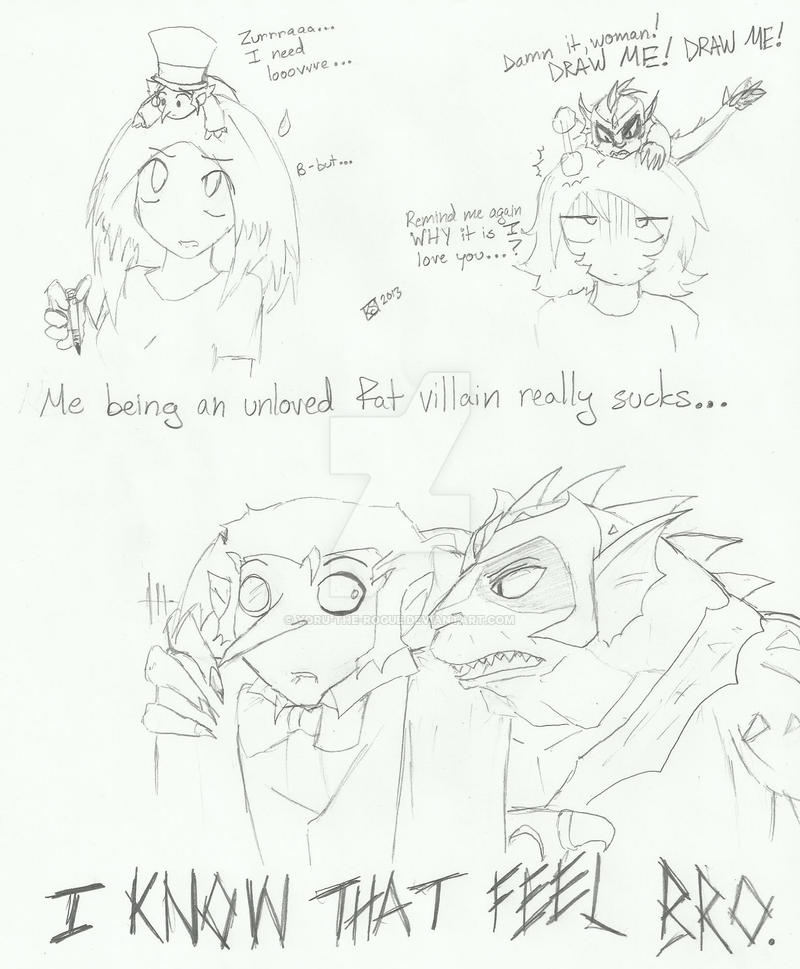 Fat villains need love too... by Yoruhoshi