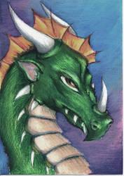artful dragon by Viking-Dream