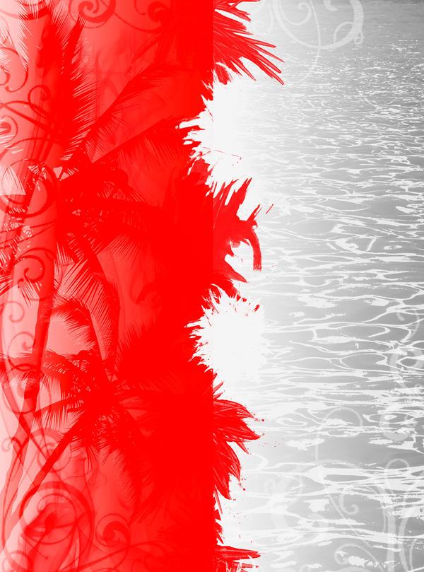 Background Merah Putih Red White Mischief Gambar