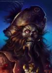 Monkey Island - LeChuck by maddekartist