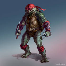 TMNT - Raphael by maddekartist