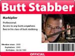 Butt stabber ID