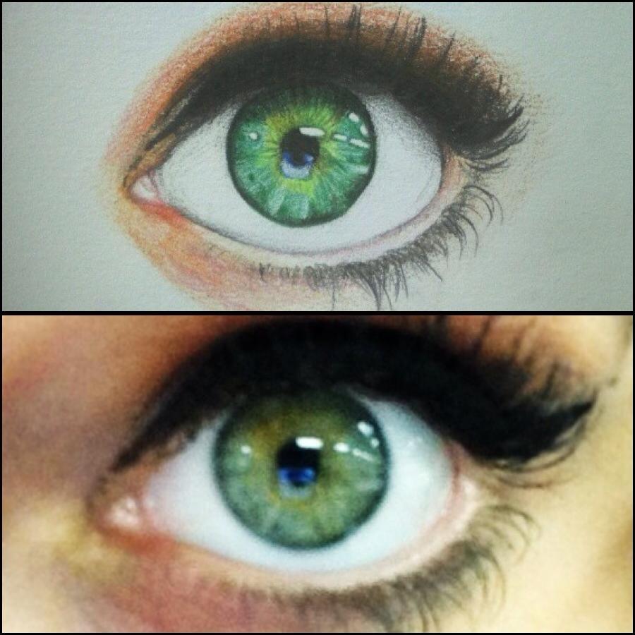 Eyeball. by KymBodkin