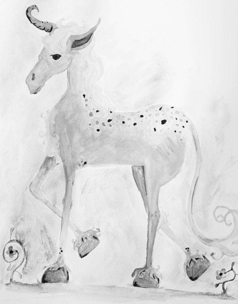 Dark Unicorn by Sarah-Maxine