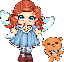 Jasmines little dolly and friend by Heartsdesire-fantasy