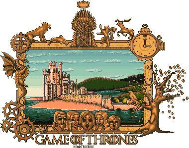 Game Thrones Pixel Heartsdesire Fantasy 2017 by Heartsdesire-fantasy