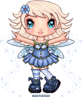 Forget me not - Pixel fairy contest entry