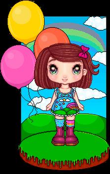 Rainbow cuteness overload !