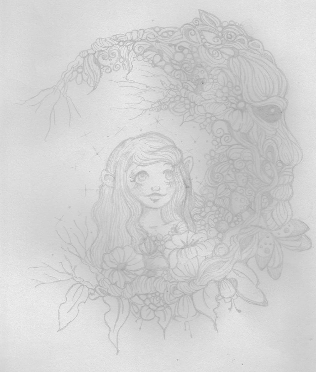 Woodman Moon by Heartsdesire-fantasy