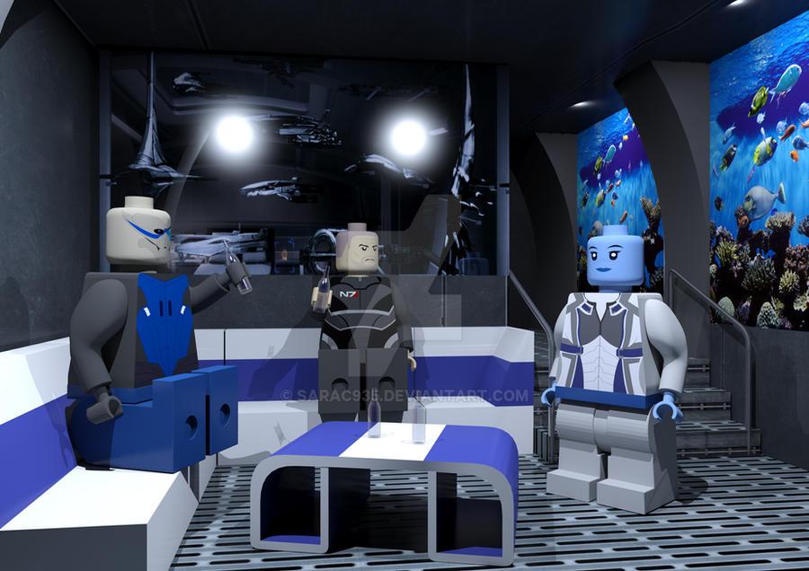 Mass Effect Lego Scene by SaraC935