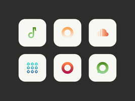 Gradii - Icon pack - Preview