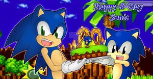 Happy 20th Anniversary Sonic