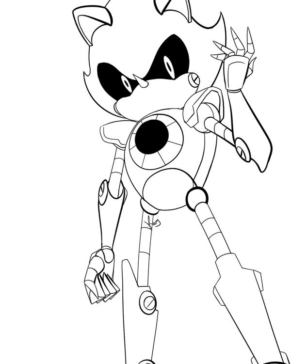 Dibujos Para Colorear Super Sonic Dibujos Para Colorear Sonic