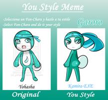 You Style Meme - Garoro