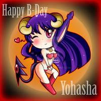 Happy B-Day Yohasha 14