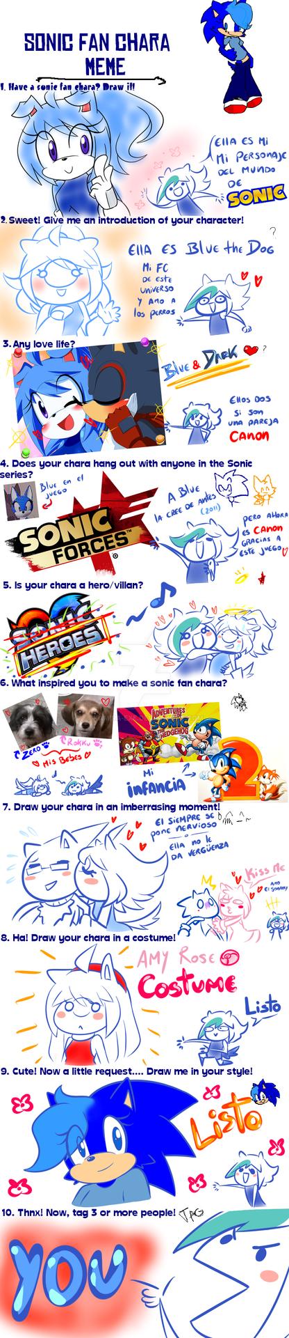 Sonic Fan Chara Meme By Snorechu by Kamira-Exe