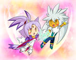 Silver and Blaze Remake by Kamira-Exe