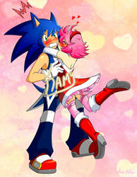 Sonic X Amy Remake
