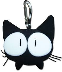 Flcl cat key chain by KAynizo