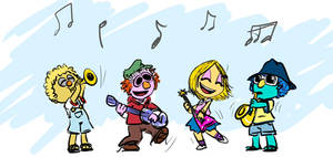 MuppetBabies: Junior Mayhem by aerinsol