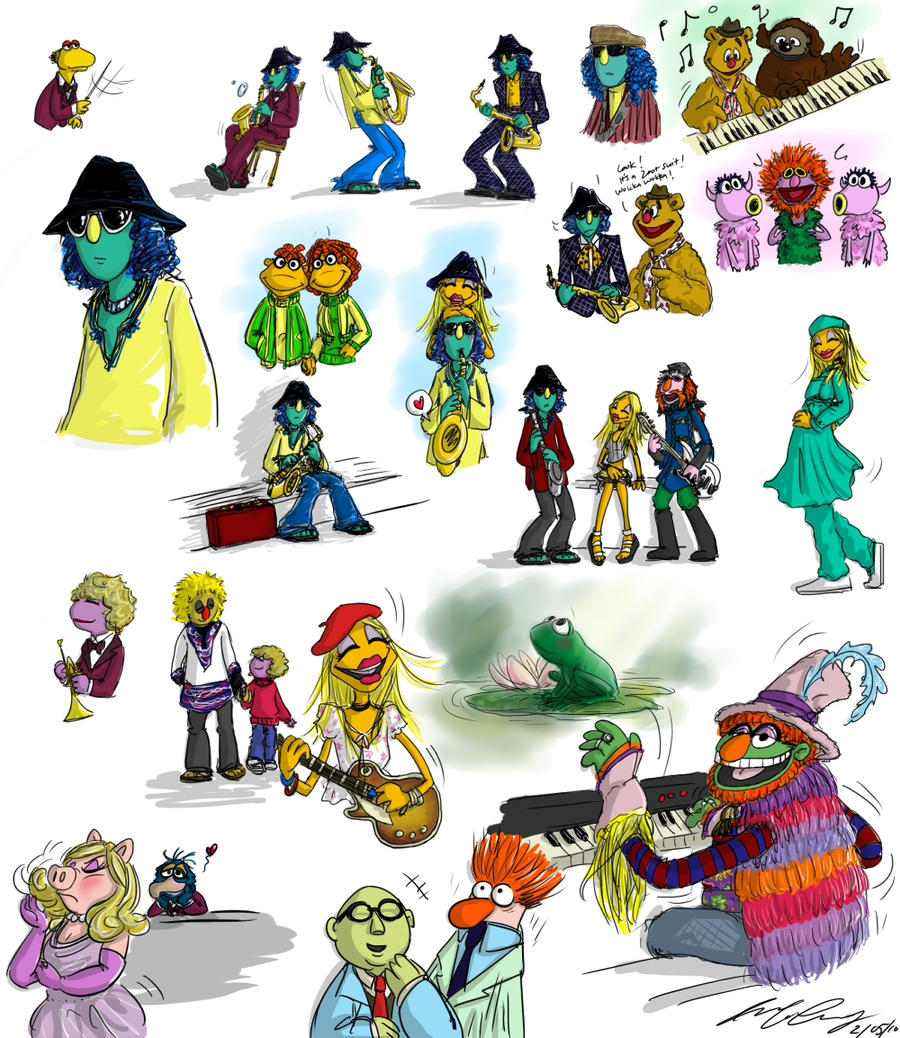 It's Time to Meet the Muppets by aerinsol