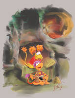 Fraggle Rock: Let Me Be Your Song by aerinsol