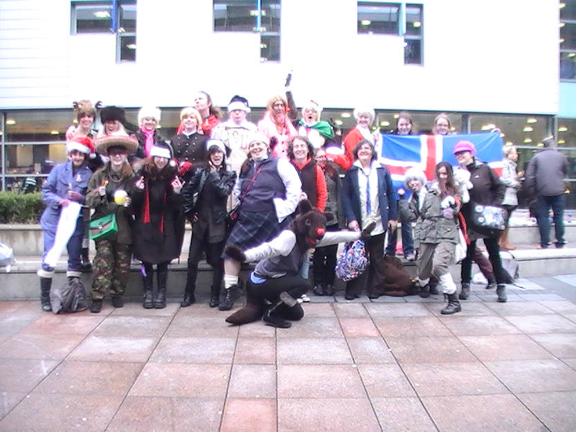 Group photo of the newcastle hetalia meet by Chibi-MsHollowfox