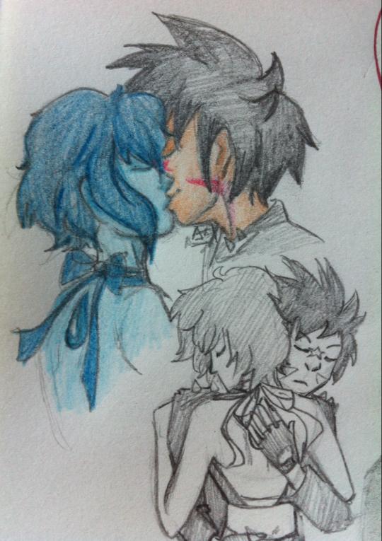 REQUEST Lapis and Arashi 3 Kiss by Chibi-MsHollowfox