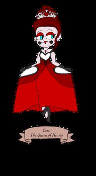 Cora the Queen of Hearts - Curiosities