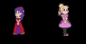 Auroraverse Siblings - Lunaria and Orbita