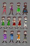 Mewnian Kingdom Fashion - Male