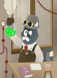 Steam Cat by Bloodhowl-Fangsworth