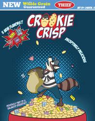 Cereal Killers Artshow: Crookie Crispies by Bloodhowl-Fangsworth