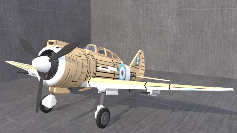 Gallian Royal Air Force Renard R-41 Helios fighter by larrynguyen0096
