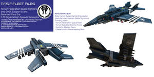 Terran Federation Fleet Starfighter F-79 Sigrdrifa