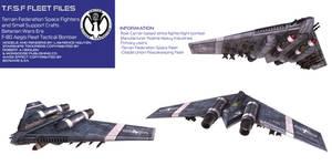 Terran Federation Fleet Tactical Bomber F-80 Aegis