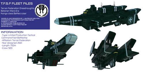 T.F.S.F Battlecruiser Kongo by larrynguyen0096