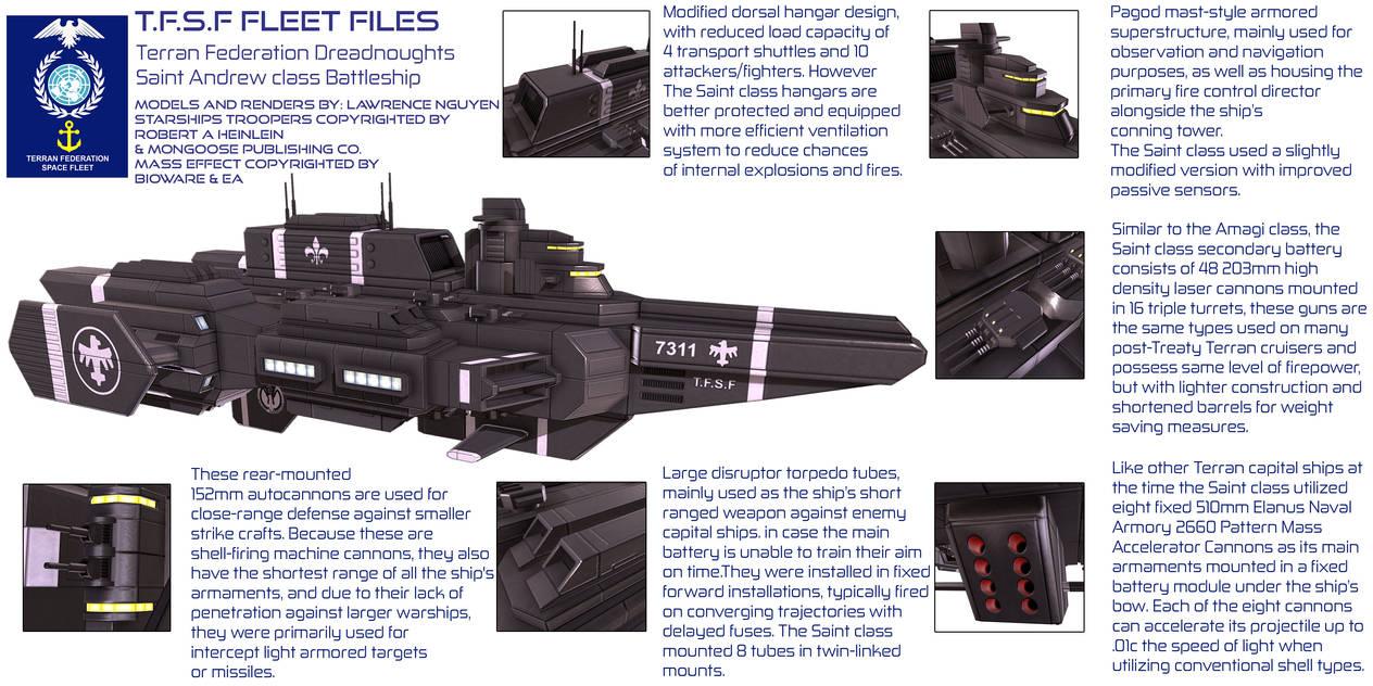 TFSF Saint Andrew Mechanical Details by larrynguyen0096
