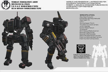 Federation Marauders M14 Dingo Command Type by larrynguyen0096