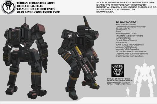 Federation Marauders M14 Dingo Command Type